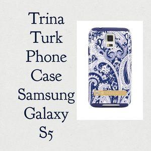 Trina Turk Phone Case for Samsung Galaxy S5 - NIB